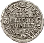 1/24 Thaler - Friedrich Wilhelm – revers