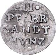 2 Pfennig - Friedrich Wilhelm – revers
