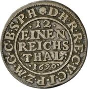 1/12 Thaler - Friedrich III. – revers
