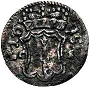 2 Pfennig - Friedrich III. – avers