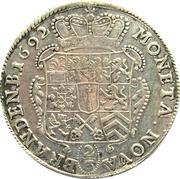 ⅔ thaler - Friedrich III – revers