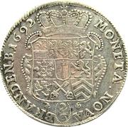 ⅔ thaler - Friedrich III (Minden) – revers