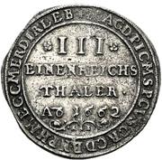 ⅓ Thaler - Friedrich Wilhelm – revers