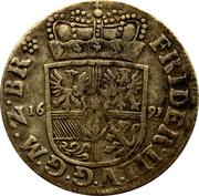1/12 thaler - Friedrich III – avers