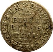 1/12 thaler - Friedrich III – revers