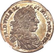 2 ducats - Friedrich Wilhelm – avers