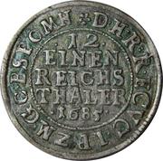 1/12 thaler - Friedrich Wilhelm – revers