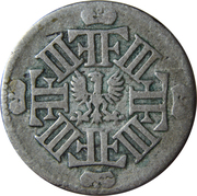 1/12 thaler - Friedrich III (Berlin) – avers