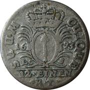 1/12 thaler - Friedrich III (Berlin) – revers