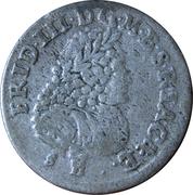 6 gröscher - Friedrich III – avers