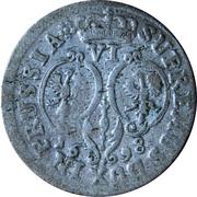 6 gröscher - Friedrich III – revers