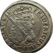 18 groschen - Friedrich III – avers
