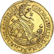 5 ducat Georg Wilhelm – avers
