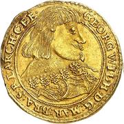 1 ducat Georg Wilhelm – avers