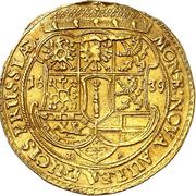 1 ducat Georg Wilhelm – revers