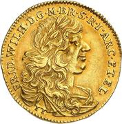 2 ducat Friedrich Wilhelm – avers