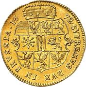 2 ducat Friedrich Wilhelm – revers