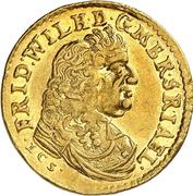 1 ducat Friedrich Wilhelm (ducat de Guinée) – avers