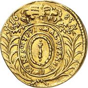 1 ducat Friedrich Wilhelm – revers