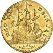 1 ducat Friedrich Wilhelm (ducat de Guinée) – revers
