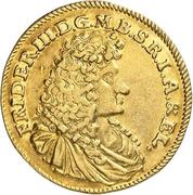 1 ducat Friedrich III (ducat de Guinée) – avers