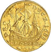 1 ducat Friedrich III (ducat de Guinée) – revers