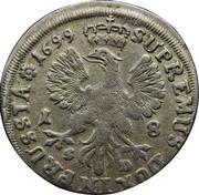 18 groschen - Friedrich III – revers