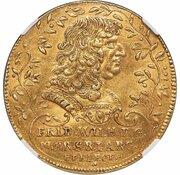 5 ducat Friedrich Wilhelm – avers