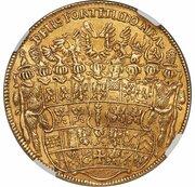 5 ducat Friedrich Wilhelm – revers
