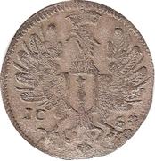 6 pfennig - Friedrich III – avers