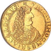 1 ducat - Friedrich Wilhelm – avers