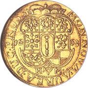 1 ducat - Friedrich Wilhelm – revers