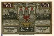 50 Pfennig (Strasburg - Uckermark) – avers