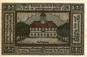 25 Pfennig (Strasburg - Uckermark) – revers