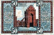 50 Pfennig (Templin) – avers