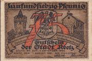 75 pfennig (Reetz) – avers