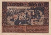 75 pfennig (Reetz) – revers