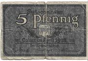 5 Pfennig (Calau) – revers