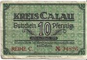10 Pfennig (Kreis Calau) – avers