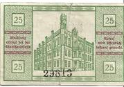 25 Pfennig (Kyritz) – revers