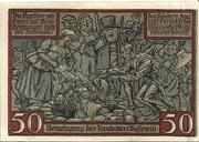 50 Pfennig (Kyritz - Gewerbe- und Landwirtschaftsbank e.G.m.u.H.) – revers