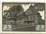 25 Pfennig (Kyritz - Gewerbe- und Landwirtschaftsbank e.G.m.u.H.) – revers