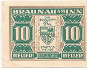 10 Heller (Braunau) -  avers