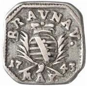 6 kreuzer (Monnaie obsidionale) – avers