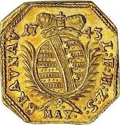 1 ducat (Monnaie obsidionale) – avers