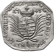 1 gulden (Monnaie obsidionale) – avers