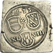 48 klippe kreuzer (monnaie de siège) – avers