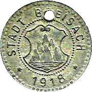 10 pfennig - Breisach – avers