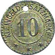 10 pfennig - Breisach – revers