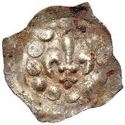 1 Pfennig (Lilienpfennig) – avers